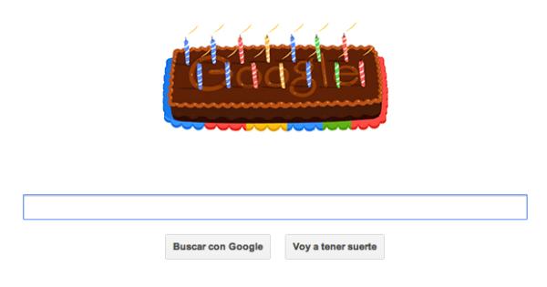 google feliz cumpleanos SEO
